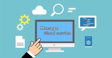 ההבדל בין שרות ענן לשירות ענן מנוהל